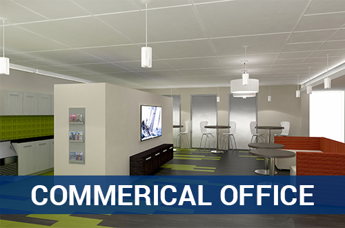 Commercial Office – Architectural Services - TNI Interiors