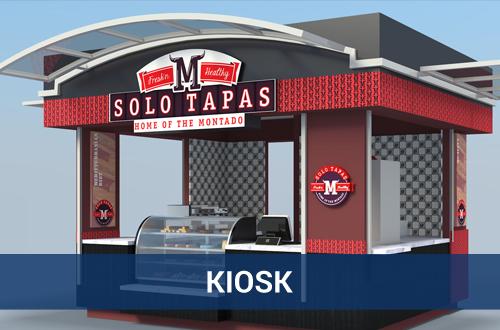 Kiosk – Revit 3D Models – TNI Interiors