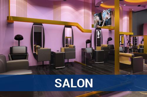 Salon – Architectural Services - TNI Interiors