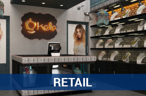 Retail – 3D Rendering Services – TNI Interiors